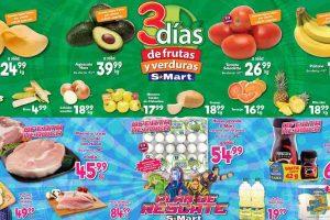 Ofertas S-Mart frutas y verduras del 18 al 20 de febrero 2020