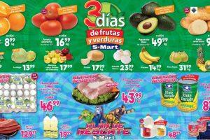 Ofertas S-Mart Frutas y Verduras del 4 al 6 de febrero 2020