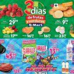 Ofertas S-Mart Frutas y Verduras del 11 al 13 de febrero 2020