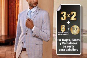Sears: 3×2 en trajes, sacos y pantalones de vestir para caballero