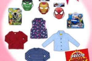 Soriana Mercado: Liquidación de hasta 70% de descuento en juguetes y ropa de invierno