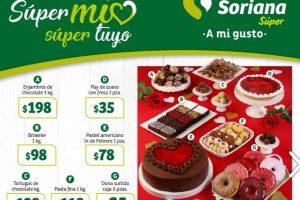 Soriana Super - San Valentín Folleto de ofertas del 7 al 13 de febrero 2020