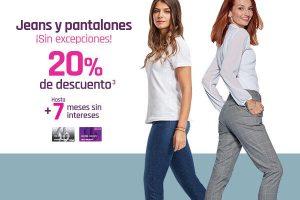 Suburbia - Jeans y pantalones con 20% de descuento + hasta 7 msi