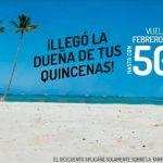 Viva Aerobus Ofertas de la Quincenas hasta 50% de descuento en vuelos