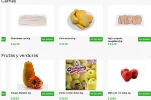 Bodega Aurrerá: frutas y verduras Tianguis de Mamá Lucha 27 Marzo al 2 Abril 2020