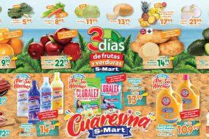 Ofertas S-Mart frutas y verduras del 24 al 26 de marzo 2020