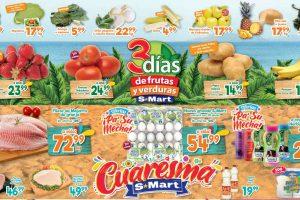 Ofertas S-Mart frutas y verduras del 17 al 19 de marzo 2020
