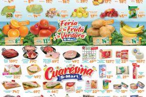 Ofertas S-Mart frutas y verduras del 31 de marzo al 2 de abril del 2020