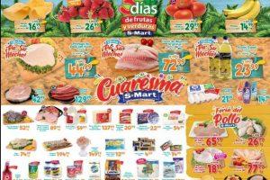 Frutas y Verduras S-Mart del 3 al 5 de marzo