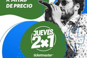 Promociones Ticketmaster en conciertos 12 de marzo 2020