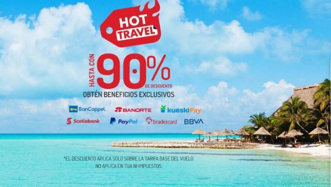Ofertas Viva aerobús Hot Travel 2020 – 90% de descuento en vuelos