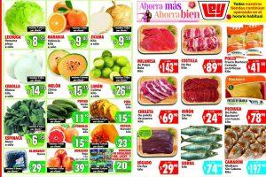 Folleto Casa Ley Frutas y verduras 28 y 29 de abril 2020