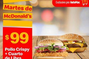 Resultados de búsqueda Resultados de la Web Cupones Martes de McDonalds 21 de abril 2020