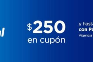 PayPal - Cupon de $250 de descuento en Chedraui