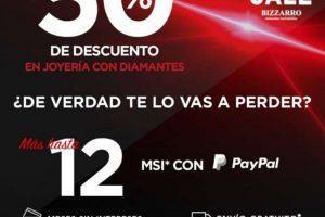 Ofertas Hot Sale 2020 en Joyerías Bizarro