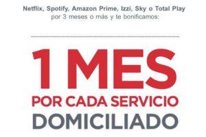 Banorte: 1 Mes GRATIS de Netflix, Spotify, Amazon Prime, Izzi, Sky y Total Play