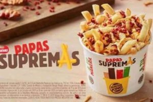 Burger King: 2x1 en Papás Supremas y Whopper con Queso 3x$100