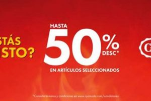 Ofertas Hot Sale 2020 en C&A