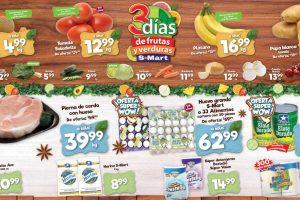 Folleto S-Mart frutas y verduras del 19 al 21 de mayo de 2020