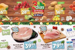 Folleto S-Mart frutas y verduras del 5 al 7 de mayo de 2020