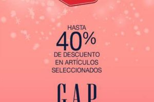 Promoción Hot Sale 2020 en Gap