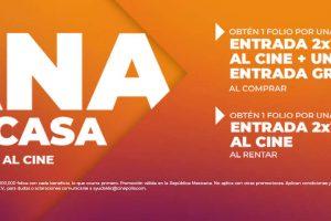 Cinépolis Hot Sale 2020: Entras Gratis + 2x1 en películas