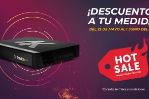 Totalplay Hot Sale 2020: 300 megas + todos los canales por 1 mes al cambiarte