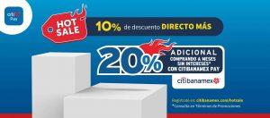Elektra ya anuncio las promociones que tiene para el Hot Sale 2020 del 22 de mayo al 1 de junio de 2020. Aprovecha 10% de descuento directo + hasta 20% de descuento adicional con Banamex