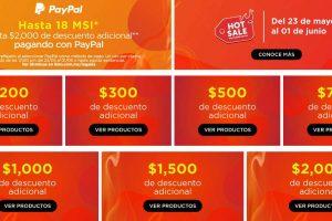 Linio - Hot Sale 2020 / Hasta $2,000 de descuento + 18 MSI con PayPal