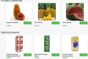 Bodega Aurrerá - Tianguis de Mamá Lucha frutas y verduras del 1 al 7 Mayo 2020