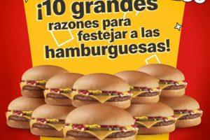 McDonalds – Día de la Hamburguesa 2020 / 10 hamburguesas por $239