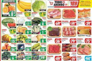 Frutas y verduras Casa Ley 19 y 20 de mayo 2020