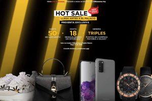 El Palacio de Hierro Hot Sale 2020: Hasta 50% de descuento + 18 msi