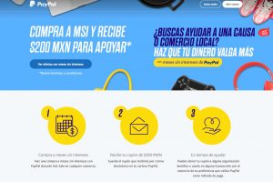 Promoción PayPal Hot Sale 2020: Meses sin intereses + cupón de $200