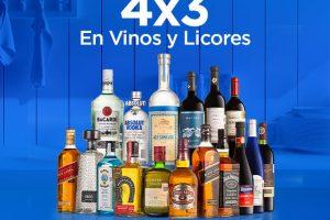 Promoción Sams Club Hot Sale 2020: 4×3 en vinos y licores