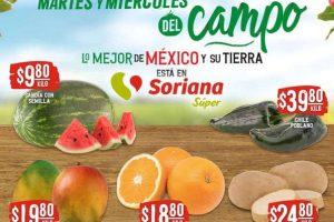 Ofertas Soriana Súper Martes y Miércoles del Campo 26 y 27 de mayo 2020