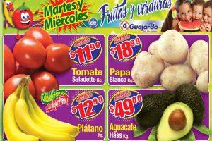 Folleto Super Guajardo frutas y verduras 19 y 20 de mayo 2020