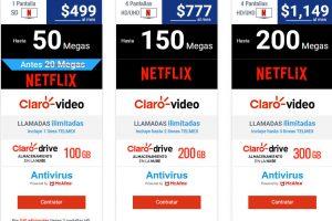 Telmex Infinitum – Teléfono, Internet 50 MB y Netflix por $499