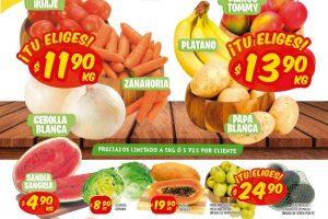 Frutas y Verduras Mi Tienda del Ahorro del 19 al 21 de mayo 2020