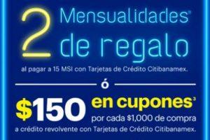 Venta Especial Best Buy Día de las madres 2 mes de Regalo con CitiBanamex
