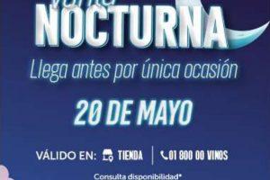 Gran Venta Nocturna Vinoteca 20 de mayo 2020