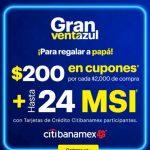 Best Buy Gran Venta Azul día del Padre: $200 en cupones por cada $2,000