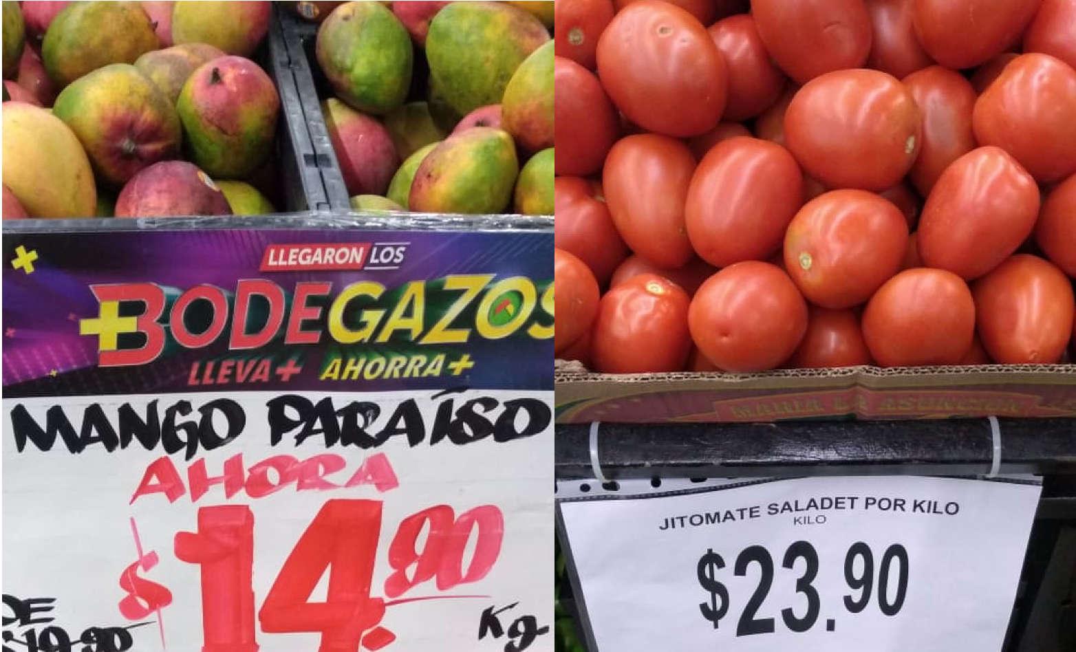 Folleto Bodega Aurrerá frutas y verduras Tianguis de Mamá Lucha al 2 de julio 2020