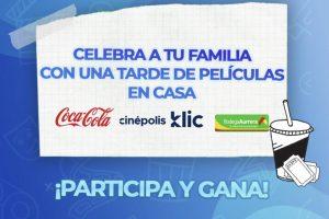 Bodega Aurrera - Compra Coca Cola y llévate 2 códigos gratis Cinepolis Klic