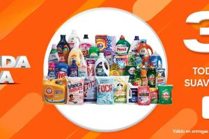 La Comer Temporada Naranja 2020: 3x2 en detergentes, suavizantes y lavatrastes