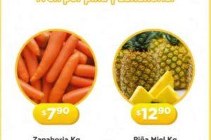 Folleto Bodega Aurrerá frutas y verduras Tianguis de Mamá Lucha 8 al 11 de junio 2020