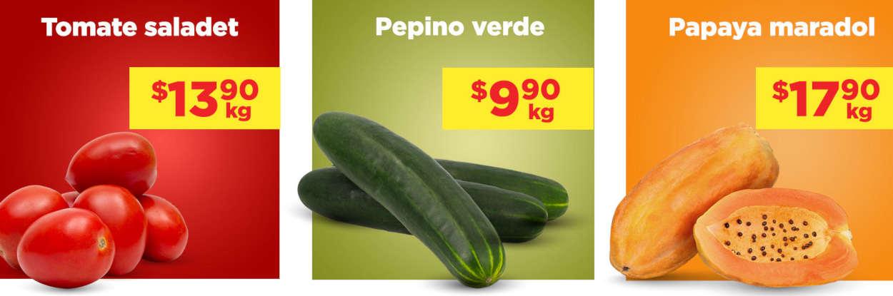 Frutas y Verduras Chedraui 9 y 10 de junio 2020