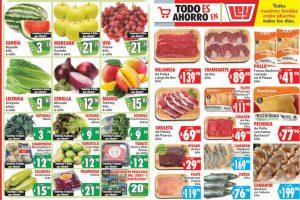 Folleto Casa Ley frutas y verduras 30 de junio y 1 de julio 2020