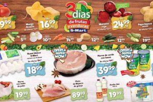 Ofertas S-Mart frutas y verduras del 16 al 18 de junio de 2020