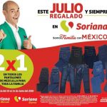 Julio Regalado 2020: 2x1 en Pantalones de Mezclilla para toda la Familia